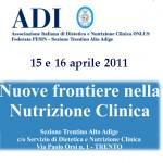 convegno ADI nutrizione TRENTO 2011