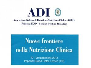 convegno Levico_frontiere nutrizione clinica 2013